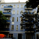 studio apartment on the second floor of a Berliner Altbau