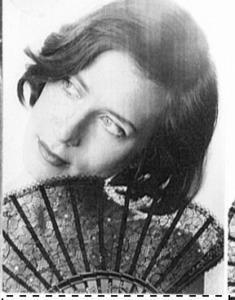 1962 - actress Irene Keidel-Aparcev