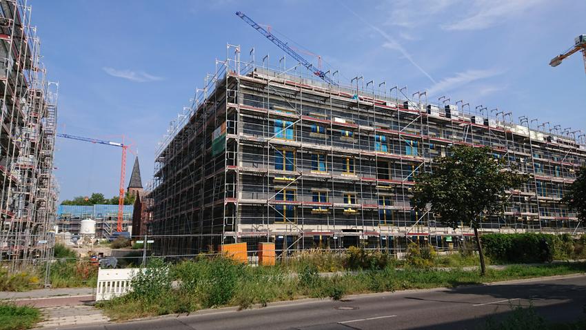 Large new development Biesdorf