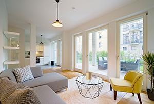 Möblierung einer Wohnung