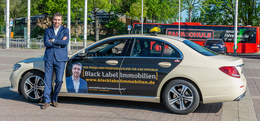 Taxi for Black Label Immobilien - Achim Amann