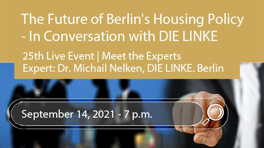 The Future of Berlin's Housing Policy - In Conversation with DIE LINKE. Berlin