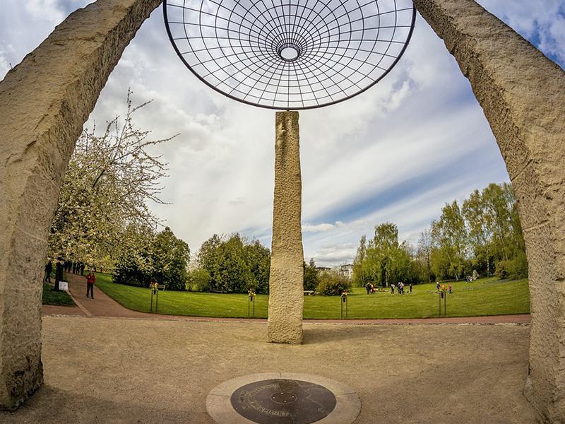 Britzer Garten in Berlin Neukölln