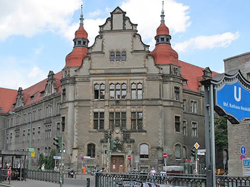 Rathaus in Berlin Neukölln
