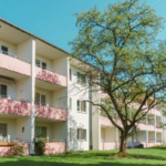 Vacant two-bedroom ground floor apartment with loggia close to historic Alt-Buckow in Berlin