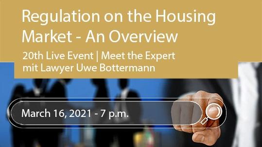 Regulation on the Housing Market - An Overview