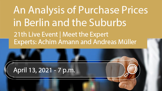Purchase Prices in Berlin and the Suburbs