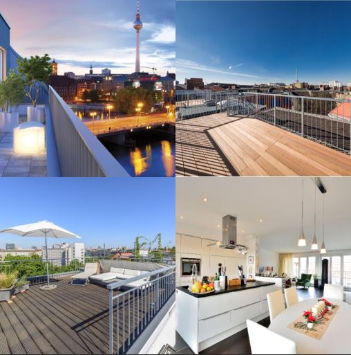 berlin luxury penthouses what s on the market black label immobilien. Black Bedroom Furniture Sets. Home Design Ideas