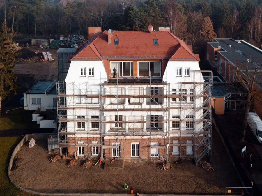 Villa Florencehort-Bauarbeiten