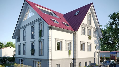 Buy one of 4 apartments in a villa in Teltow?