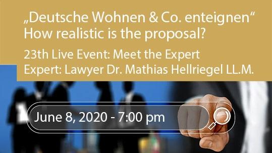"""""""Deutsche Wohnen & Co. enteigen"""" - How realistic is the proposal?"""